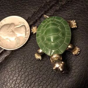 VTG Turtle Pin (Gold Tone)